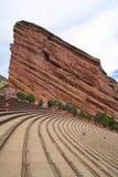O vermelho balança o anfiteatro, Denver, Colorado fotos de stock royalty free