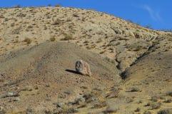 O vermelho balança a montanha Califórnia da rocha da garganta Fotografia de Stock