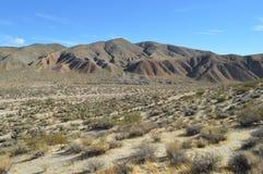 O vermelho balança a montanha Califórnia da rocha da garganta Imagens de Stock