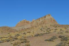 O vermelho balança a montanha Califórnia da rocha da garganta Fotos de Stock