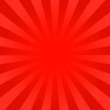 O vermelho brilhante irradia o fundo Fotografia de Stock Royalty Free