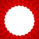 O vermelho cuba o molde Cube o fundo 3D cuba a ilustração ilustração do vetor