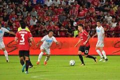 O vermelho de Charyl Yannic Chappuis de SCG Muangthong uniu-se Fotografia de Stock