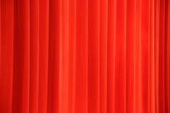 O vermelho drapeja Imagens de Stock Royalty Free