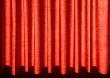 O vermelho drapeja Imagem de Stock