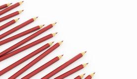 O vermelho escreve o conceito rendido ilustração stock