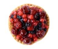 O vermelho frutifica torta imagem de stock royalty free