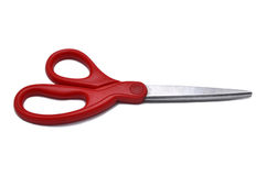 O vermelho scissor Imagens de Stock Royalty Free