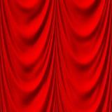 O vermelho sem emenda drapeja a textura ilustração stock