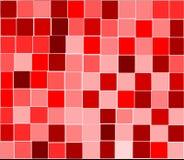 O vermelho telha o fundo Ilustração do Vetor
