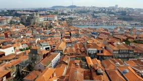 O vermelho telha Porto Imagem de Stock