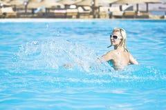 O verão relaxa Fotos de Stock Royalty Free
