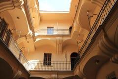 O vestíbulo em Praga, República Checa foto de stock royalty free