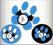 O veterinário pets o logotipo ilustração do vetor