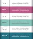 O vetor alinha infographic ilustração stock
