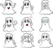 O vetor bonito traz emoções diferentes Fotografia de Stock Royalty Free