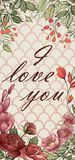 O vetor do casamento floral convida o convite, cartão do rsvp ilustração do vetor