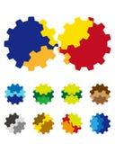 O vetor do projeto alinha o elemento do logotipo Imagens de Stock Royalty Free
