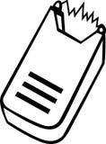 O vetor elétrico stun a ilustração do injetor Imagem de Stock Royalty Free