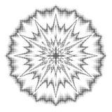 O vetor pontilha a reticulação Pontos pretos no fundo branco ro da textura ilustração stock