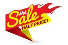 O vetor quente do negócio da oferta do preço de venda etiqueta etiquetas dos moldes Fotos de Stock