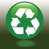 o vetor recicl o sinal Imagem de Stock