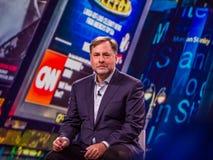 O vice-presidente de NetApp de operações Joel Reich do produto faz o discurso Fotos de Stock