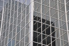 O vidro cobriu a construção Foto de Stock Royalty Free