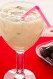 Cocktail da agitação de leite do fruto fresco Foto de Stock Royalty Free