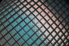 o vidro cuba a textura Fotos de Stock Royalty Free