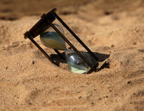 O vidro da areia Foto de Stock Royalty Free