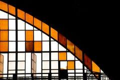 O vidro de um quarto Imagens de Stock