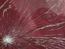 O vidro quebrado A textura das rachaduras branca e preta Foto de Stock Royalty Free