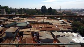 O vilage de Kijiji do precário abriga pobres Fotografia de Stock Royalty Free