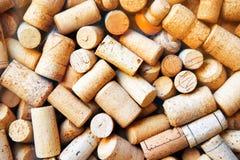 O vinho arrolha a coleção fotografia de stock