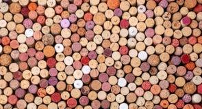 O vinho arrolha o fundo fotos de stock royalty free