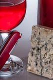 O vinho gourmet e janta Imagens de Stock Royalty Free