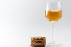 O vinho italiano Imagens de Stock