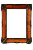O vintage decorou o quadro ao estilo de Art Nouveau Imagens de Stock Royalty Free