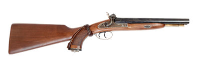 O vintage grande-fura o injetor da caça .58 cal. Fotos de Stock Royalty Free