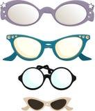 O vintage olho-desgasta Imagens de Stock Royalty Free