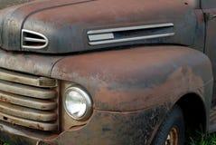 O vintage pegara o caminhão imagem de stock