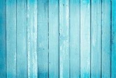 O vintage pintou o fundo de madeira da parede, textura da cor pastel azul com testes padr?es naturais para o trabalho de arte do  imagem de stock royalty free
