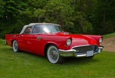 O vintage restaurou Ford Thunderbird 1957 Imagem de Stock Royalty Free