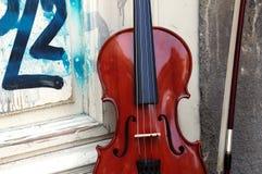 O violino Imagem de Stock Royalty Free