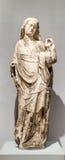 O Virgin e a criança - 1350 Imagens de Stock