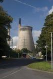 O vista da central eléctrica imagens de stock royalty free