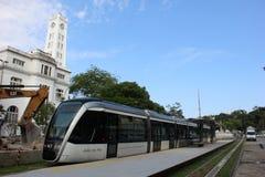 O VLT do Rio estará pronto para o Rio 2016 Jogos Olímpicos Foto de Stock Royalty Free