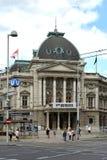 O Volkstheater em Viena - Áustria foto de stock