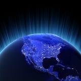 O volume 3d de América rende Imagem de Stock